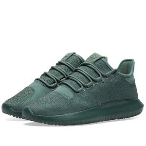 NWOT ADIDAS Tubular Ortholite Green Sneakers